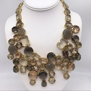 J. Crew Waterfall Necklace NWT